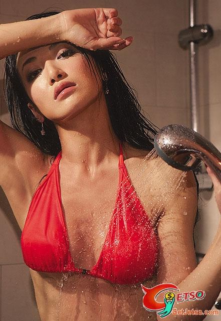陳紫函濕身沐浴寫真相片照片1