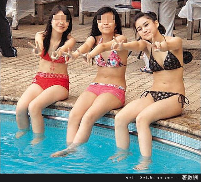 索女初熟何超蓮,私密泳照曝光照片2