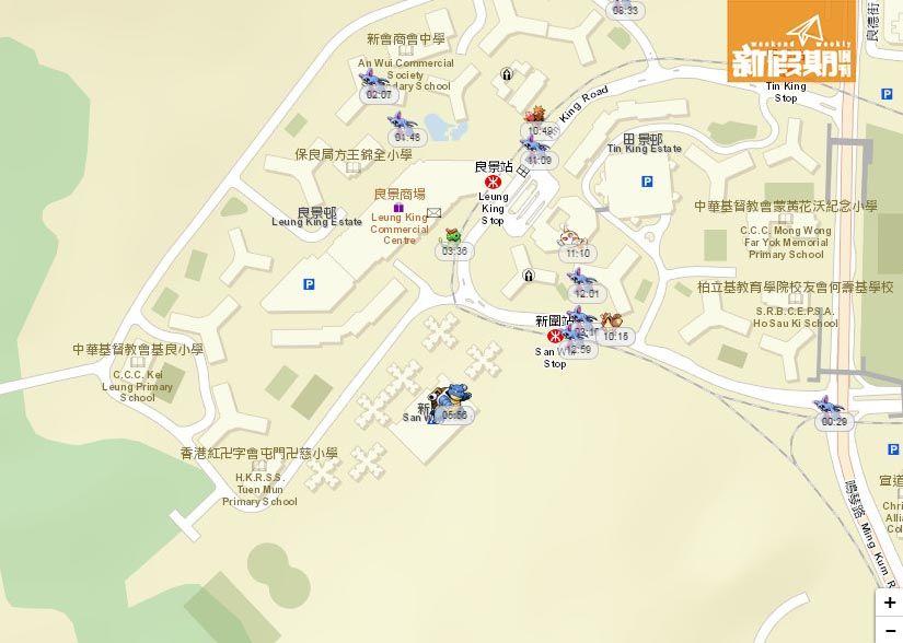 Pokémon Go 香港地圖攻略!18區寵物小精靈率先睇!